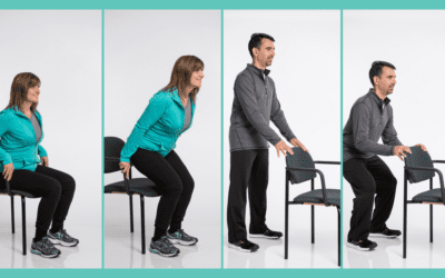 Get Started with Chair & Standing Exercises for Seniors – Squat Up & Down